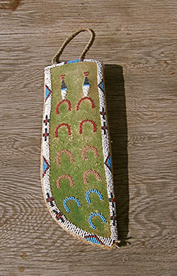 Grizzly Claw Trading Company, Seeley Lake, Montana | Norther Plains Beaded Knife Sheath