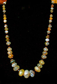 GrizzlyClawTradingCompany-Montana Agate necklace